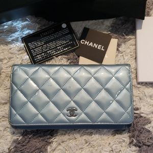 Authentic Chanel L-Yen Wallet